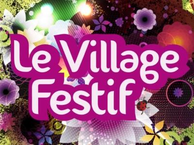 vignette village festif